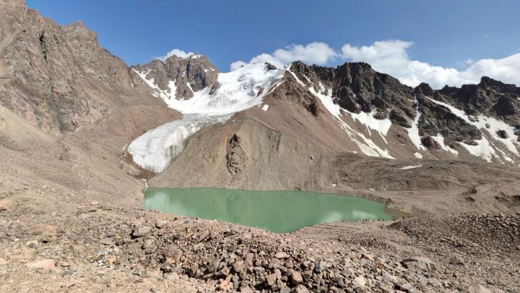 Озеро №2 Перевал Пионер